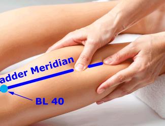 Bladder Meridian and BL 40