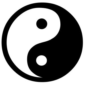 Yin-Yang Taiji Symbol